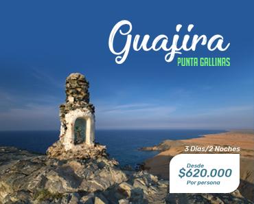 Planes-Guajira Punta Gallinas