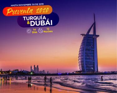 TURQUIA Y DUBAI - ENERO A FEBRERO 2020