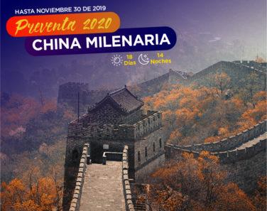 CHINA MILENARIA - 2020-WEB
